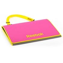 Skládací fitness podložka REEBOK - Růžová