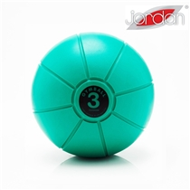 Gumový medicinball JORDAN LOUMET 3 kg zelený