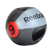 Medicinball dvojitý úchop 9 kg Reebok Professional
