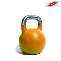 Kettlebell JORDAN Fitness Competition 28 kg oranžový