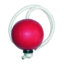 Loumet rope ball (Tornadoball) JORDAN 1 kg červený
