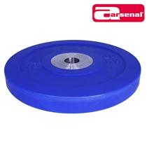Bumper kotouč odhazovací kalibrovaný ARSENAL 20 kg modrý