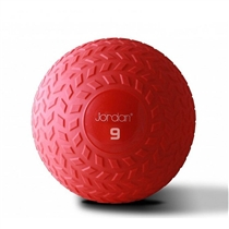 Slam ball JORDAN 9 kg červený - new design