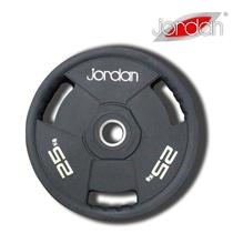 Olympijský kotouč JORDAN gumový 25 kg