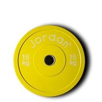 Bumper kotouč odhazovací JORDAN 15 kg žlutý