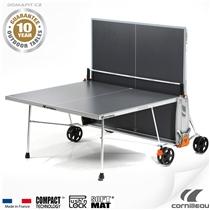 Stůl na stolní tenis CORNILLEAU Explorer Outdoor Šedý