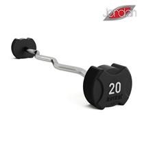 Bicepsová činka zalomená JORDAN FITNESS 50 kg