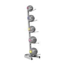 Vertikální stojan JORDAN FITNESS pro 5 medicinballů