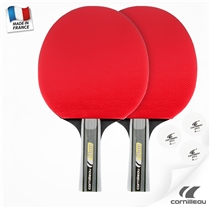 Pálky na stolní tenis CORNILLEAU SPORT Pack Duo