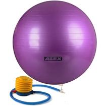 Gymnastický míč ALEX 55 cm protiskluzový