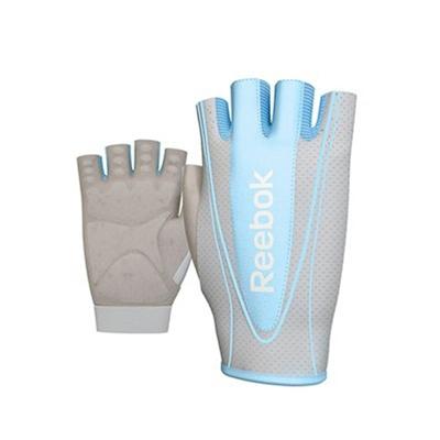 Fitness rukavice REEBOK dámské modré S/M