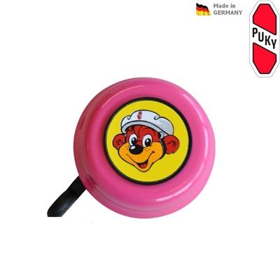 Zvoneček pro koloběžky, odrážedla a kola PUKY růžový