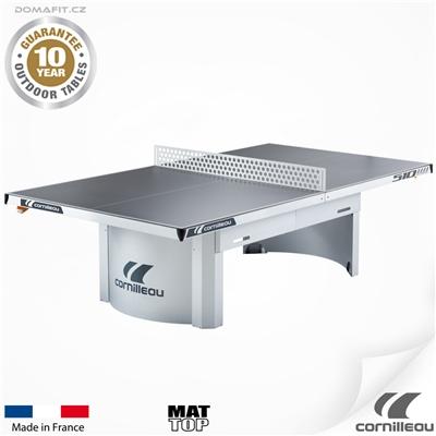 Stůl na stolní tenis CORNILLEAU 510 M outdoor šedý