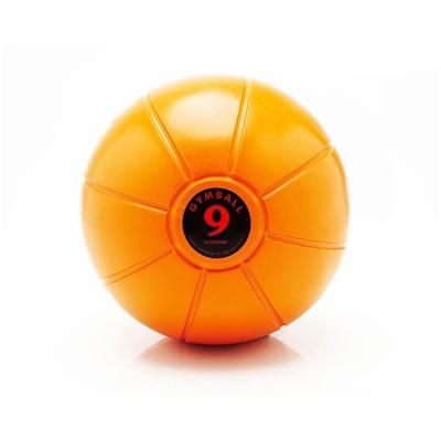 Gumový medicinball JORDAN LOUMET 9 kg oranžový