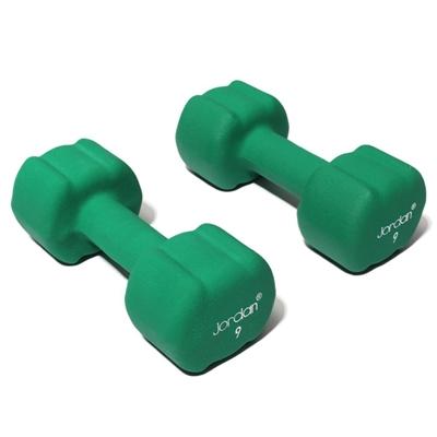 Činka JORDAN aerobic 9 kg zelená