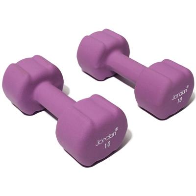 Činka JORDAN aerobic 10 kg fialová