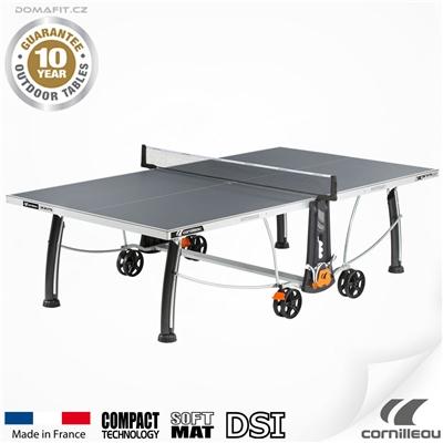 Stůl na stolní tenis CORNILLEAU 300 S Outdoor Šedý
