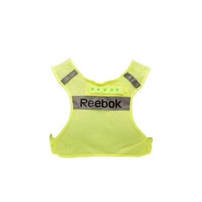 Reflexní běžecká vesta Reebok s LED osvětlením S/M