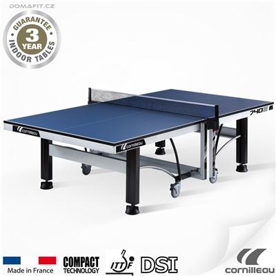 Stůl na stolní tenis CORNILLEAU ITTF Competition 740 indoor modrý
