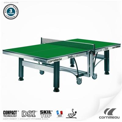 Stůl na stolní tenis CORNILLEAU ITTF Competition 740 indoor zelený