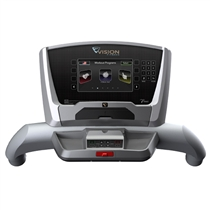 VISIONFITNESS_TF40_Laufband console ELEGANT