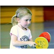 Palka na stolni tenis - Detsky set pro ping pong - lifestyle