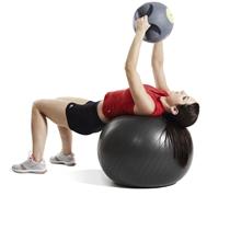 gymball jordan fitness - cviky s vlastni medicinebalem