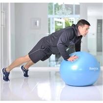gymnasticky mic - gymball - cviky - prsa