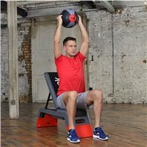 Medicine ball REEBOK professional duble grip lifestyle