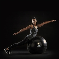 Gymnasticky balon ADIDAS Professional cerny lifestyl2