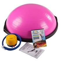 BOSU pink balance trainer set