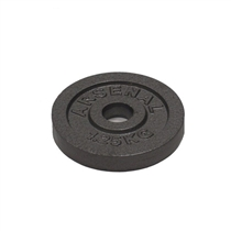 ARSENAL kotouč litinový 1,25 kg, otvor 25 mm