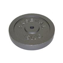 ARSENAL kotouč litinový 15 kg, otvor 25 mm