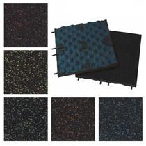 Podlaha SPORTEC STYLE COLOR, tl.30mm, 15% žíhání EPDM