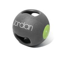 Medicin ball JORDAN s dvojtým úchopem 7 kg zelený - POSLEDNÍ KUS!