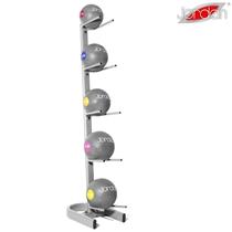 Vertikální stojan JORDAN pro 5 medicinbalů