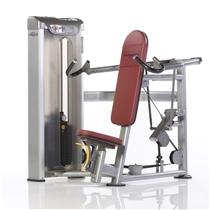 Posilovací stroj TUFF STUFF Shoulder press se zátěžovým sloupcem +