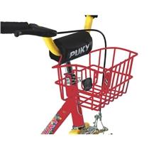 Přední košík na kolo PUKY červený