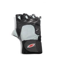 JORDAN vzpěračské rukavice černá/šedá - dlouhé, vel. L