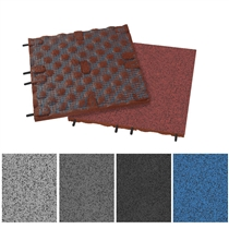 Podlaha SPORTEC STYLE PURCOLOR 30 mm, s 85% EPDM