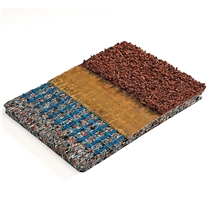 Podlaha - spodní vrstva - SPORTEC SPRINT 9 mm, s 15% EPDM