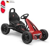 Dětská šlapací kára PUKY Go Cart Air F 550L červená/černá