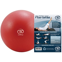 Over Ball FITNESS MAD 23 cm - RED