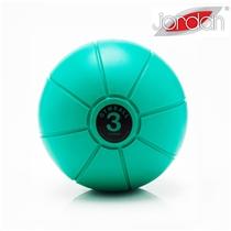 Gumový medicinball JORDAN 3 kg zelený