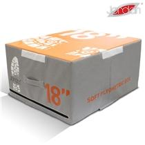 Plyometrická deska měkká Jordan Fitness 45,7 cm oranžová