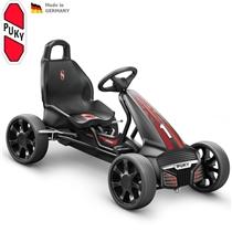 Dětská šlapací kára PUKY Go Cart Air F 550 černo/červená