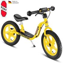 Odrážedlo s brzdou PUKY Learner Bike LR 1 BR - žlutá (tygr)