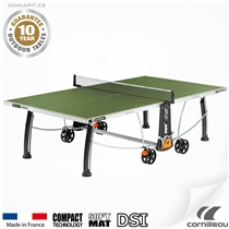 Stůl na stolní tenis CORNILLEAU 300 S Outdoor Zelený