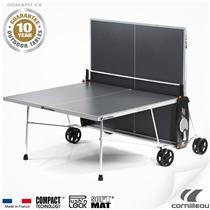 Stůl na stolní tenis CORNILLEAU 100 S Crossover, šedý