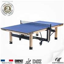Stůl na stolní tenis CORNILLEAU 850 WOOD Indoor - Modrý